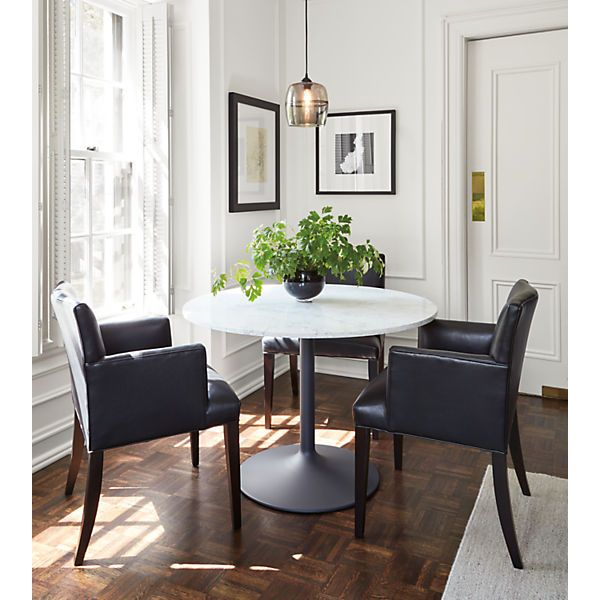 Marie Leather Dining Chairs Modern Dining Chairs Modern Dining