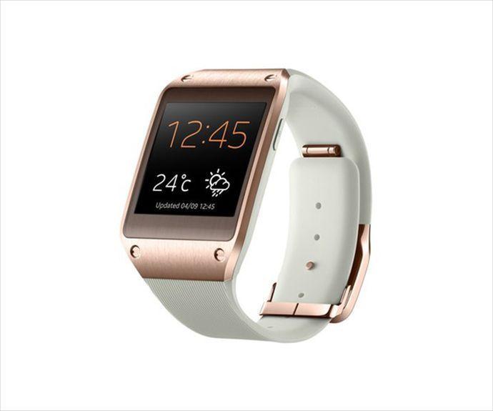 Samsung Galaxy Gear V700 Smartwatch Brand New Gold Rose S3 S4 S5 Bluetooth Watch Samsung Reloj Inteligente Smartwatch Reloj