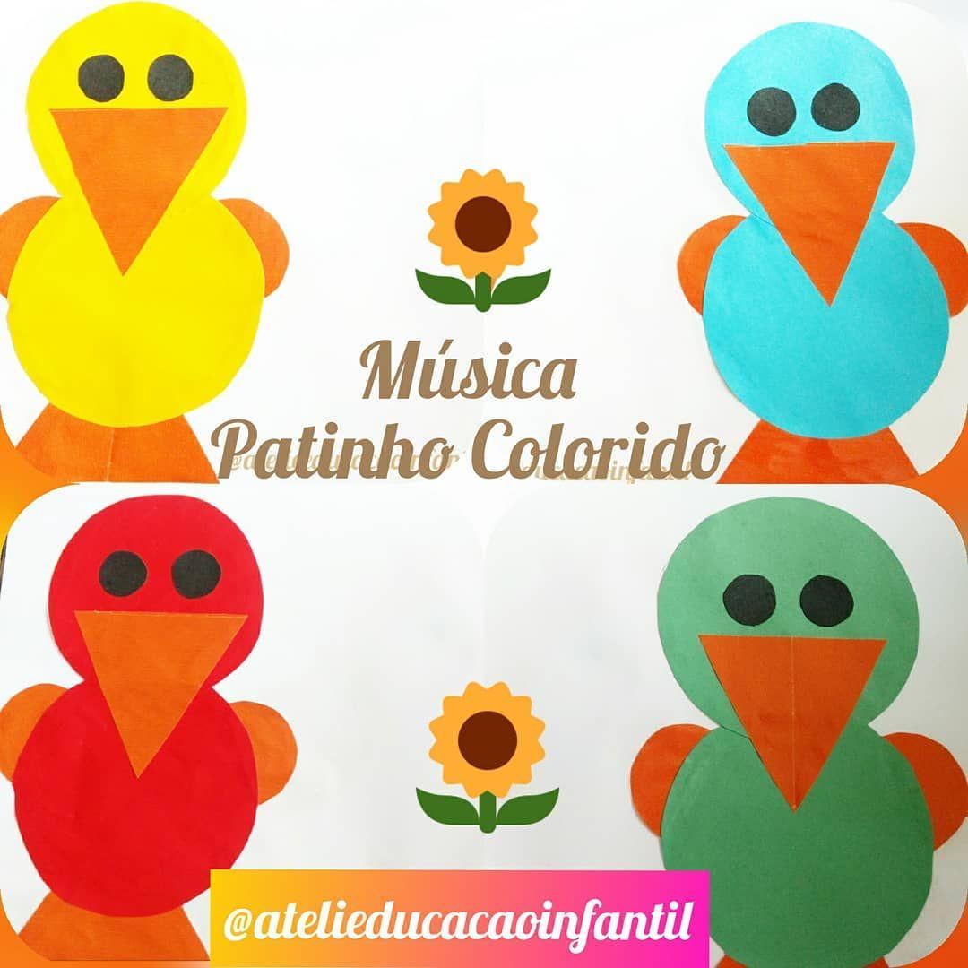 Musica Patinho Colorido Ludico Na Educacao Infantil Musicas