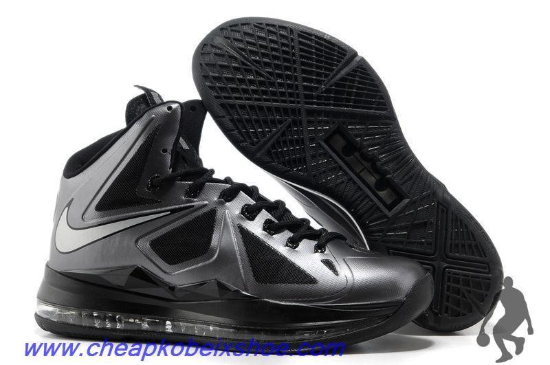 Buy Nike Lebron X (10) Black Diamond Style 541100-001 For Wholesale