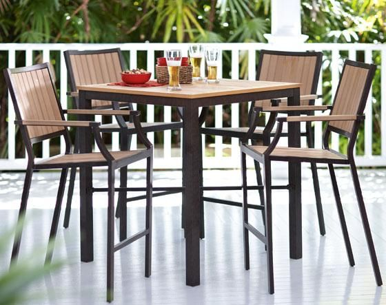 Amazing Bar Table Patio Furniture | Cool Bar Height Patio Furniture