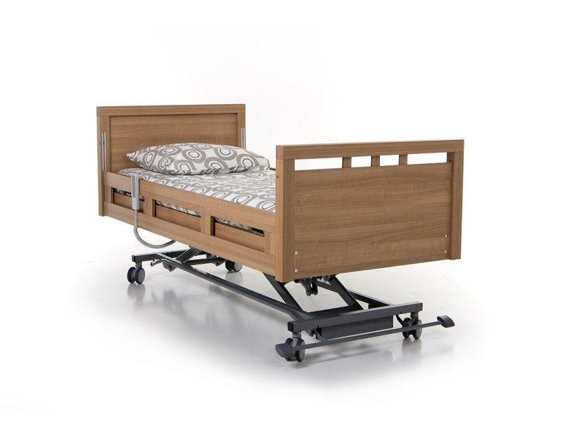 Hoog laag bed ayleen met gedeelde bedhekken showroommodel
