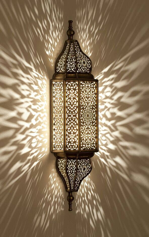 Moroccan sconce, indoor wall sconce, wall sconce ...