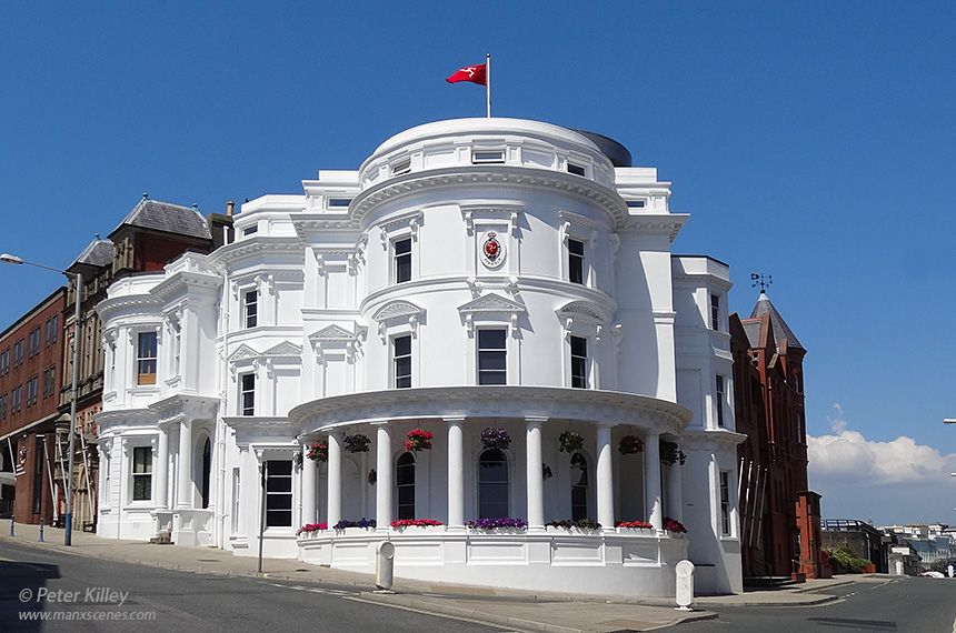 Part Of Central Government Offices In Bucks Road Douglas Is This Legislative Building Which Better Known As The Wedding Cake Isle Man Parliament