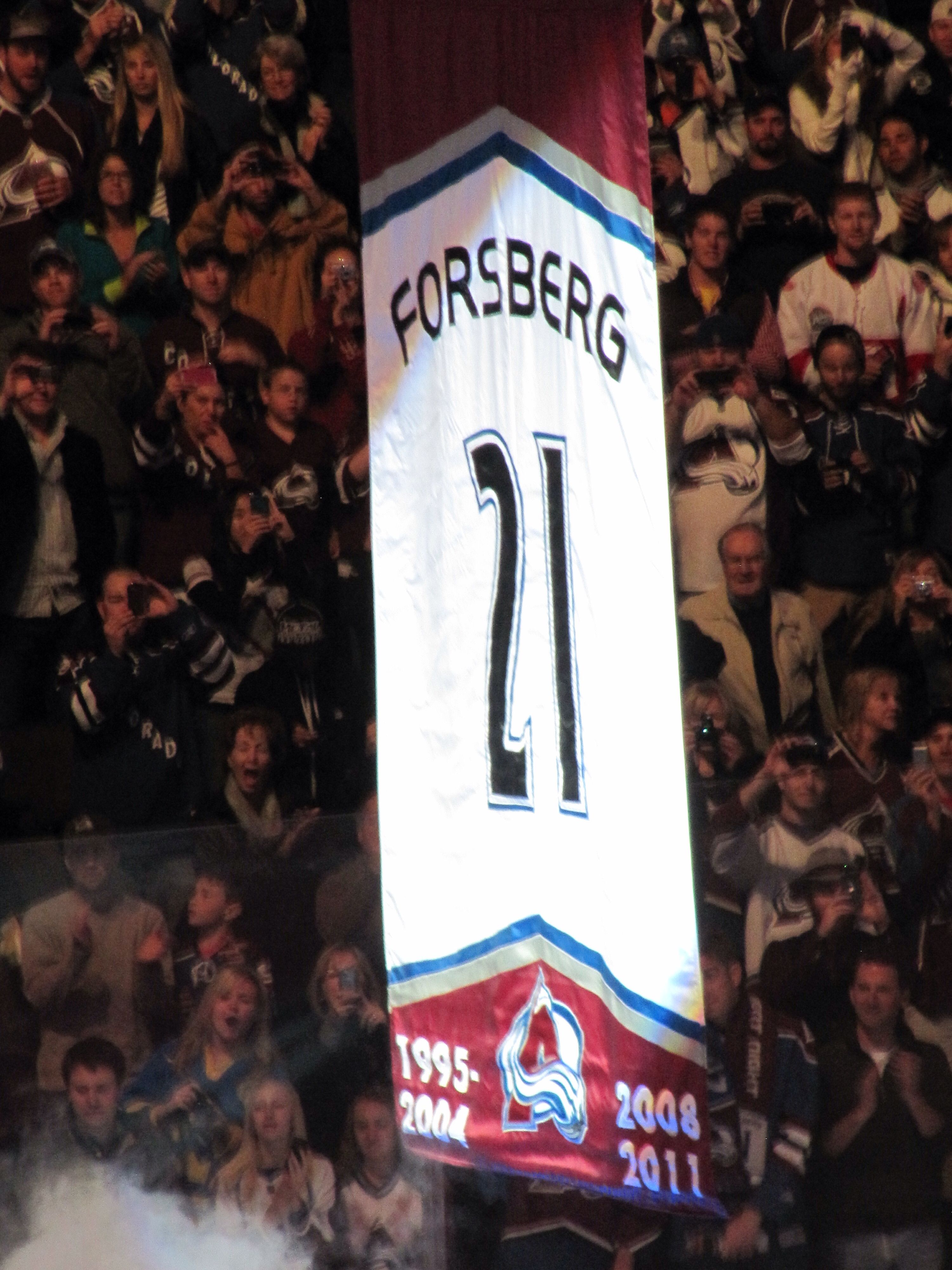 eb9bc0df2 21 retirement-Foppa Peter Forsberg Colorado Avalanche...I was there ...