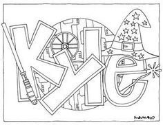 custom coloring pages # 2