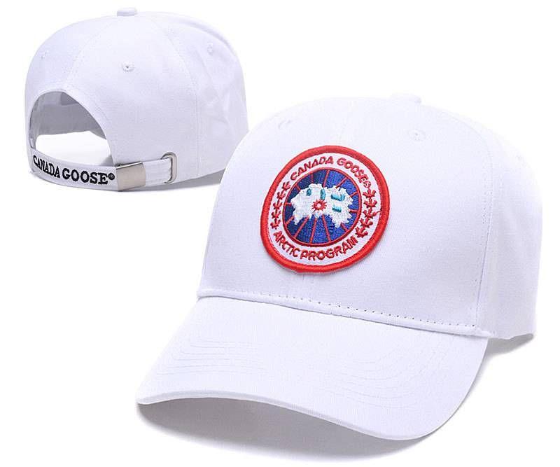 c46521968 Canada Goose Core Adjustable Baseball Cap - White | Canada Goose ...