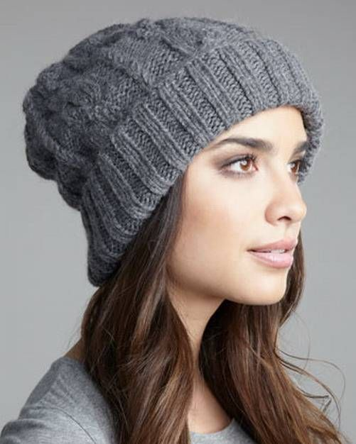 731e04697 10 Must-have Slouchy Beanies For Women | The Classy Fashion | Knit ...