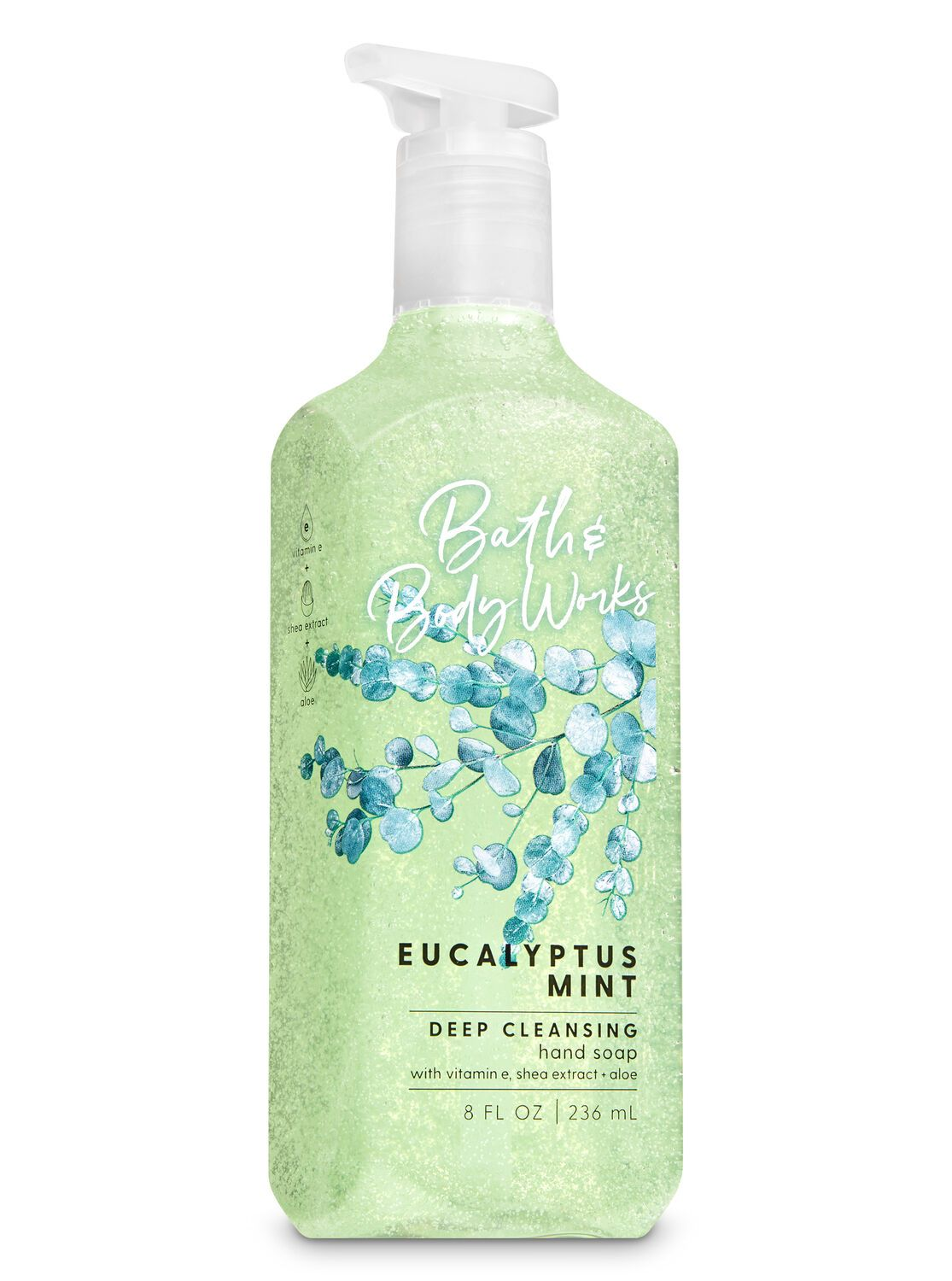 Eucalyptus Mint Deep Cleansing Hand Soap By Bath Body Works