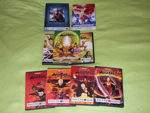 Avatar The Last Airbender Dvd Complete Collection For Both Of Us