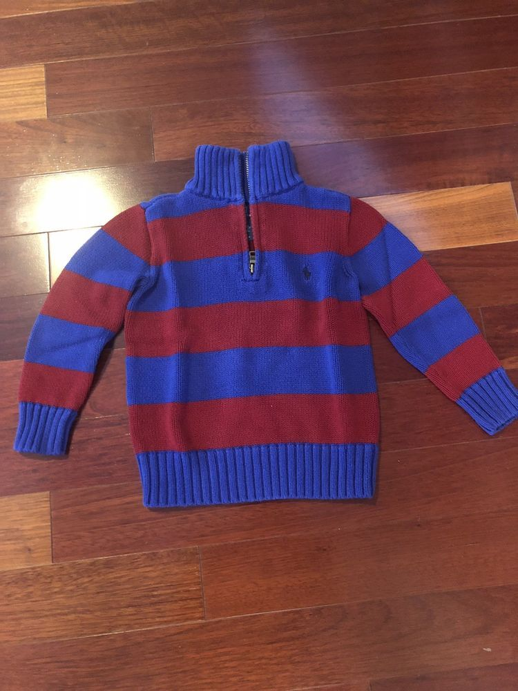 d05ef7ed76fd Polo Ralph Lauren Boys Sweater 4 4t EUC!  fashion  clothing  shoes ...