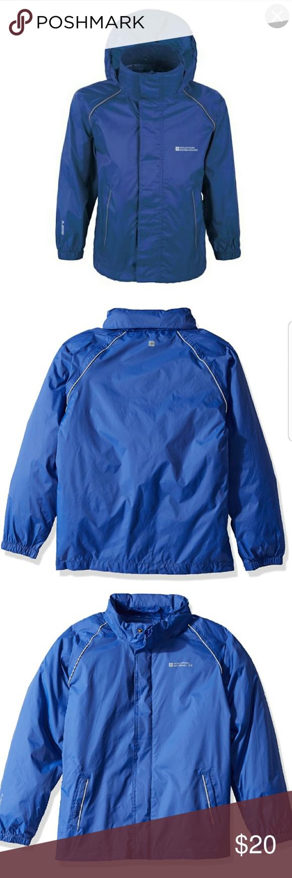36536162e Kids jacket Pakka Kids waterproof jacket - Navy size 2-3 Mountain Warehouse  Jackets & Coats Raincoats