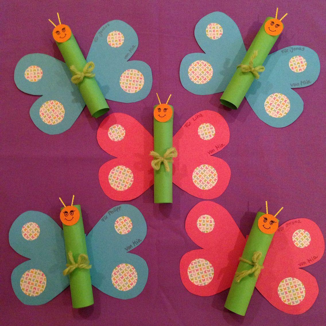 Schmetterling Geburtstag Einladungskarte Kindergeburtstag