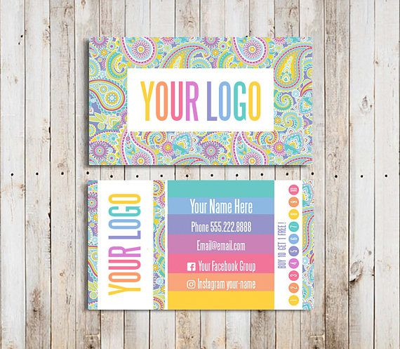 Buy 10 Cards Business Cards Punch Home Office Approved Font Lularoe Business Cards Custom Business Cards Unique Business Cards Design