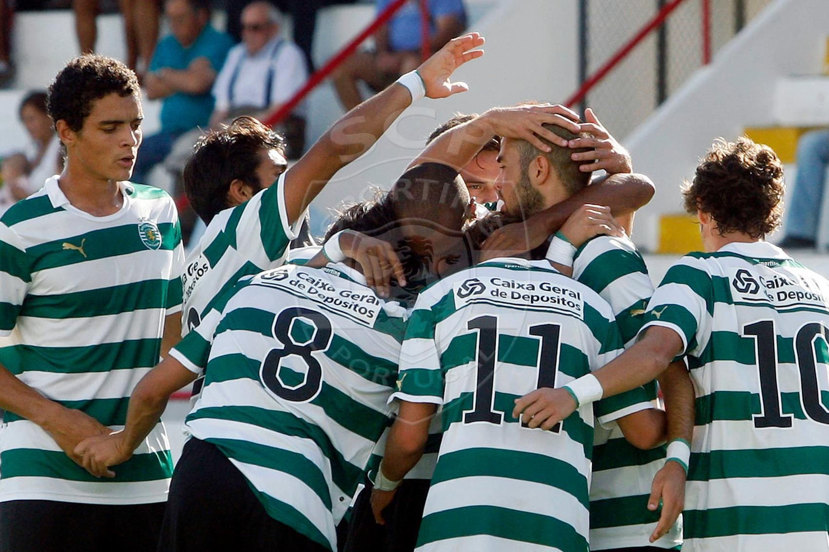 SPORTING > O Sporting conquistou, este sábado, o título de juniores ao vencer o Vitória de Guimarães por 3-1