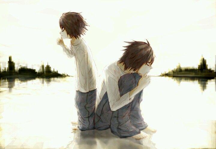 L Death Note awww its so cute