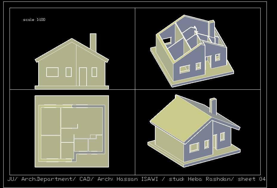 Heba Rashdanالرسم المعماري بالحاسوب/ computer architectural drawing:
