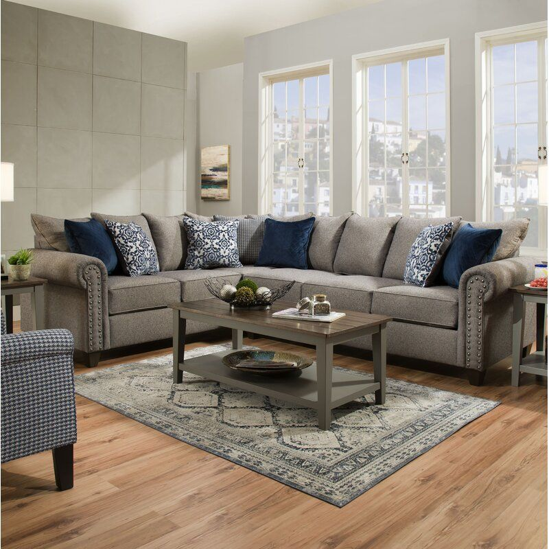Delbert Left Hand Facing Sectional Furniture Sectional Sofa Living Room Designs