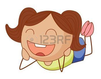 Ni os de palitos simple ilustraci n de dibujos animados - Dibujos animados para bebes ...