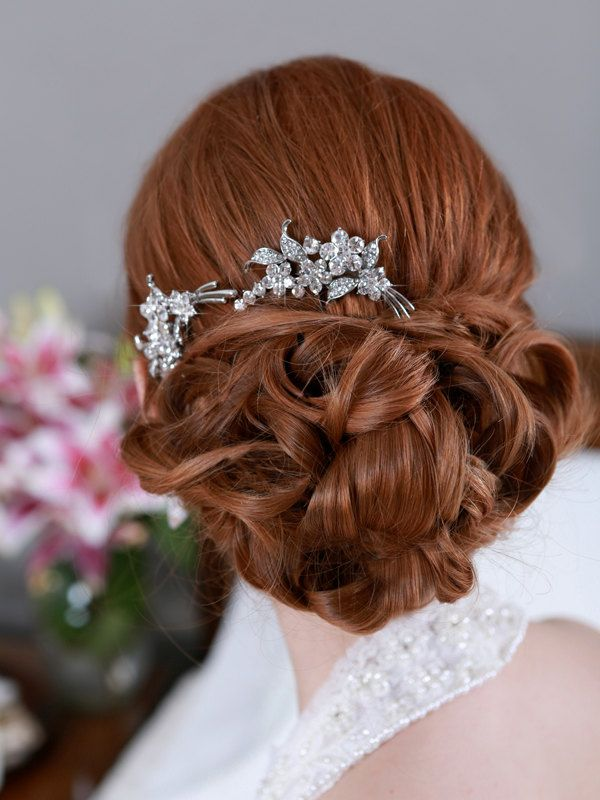 16 Stunning Wedding Hair Accessories for The Modern Bride. http://www.modwedding.com/2014/03/19/16-stunning-wedding-hair-styles-for-the-modern-bride/ #wedding #weddings #hair #hairstyle #fashion #updo #weddinghairstyle