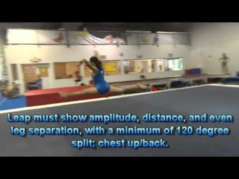 Usag Level 4 Floor Exercise Tutorial New Routines 2013 2021