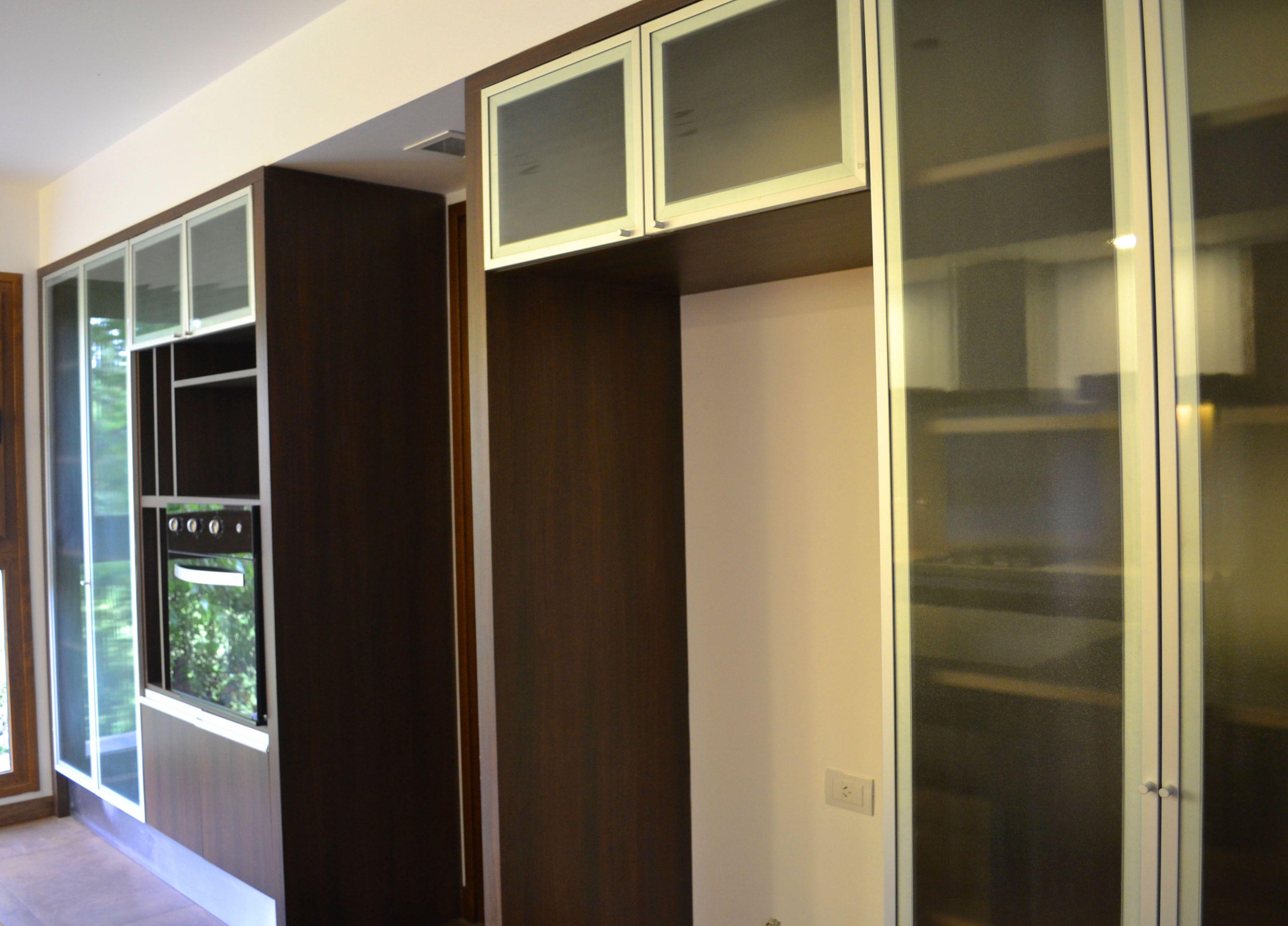 Melamina S Mil Madera Aluminio Vidrio Esmerilado Dise O  # Muebles Gustavo Martin