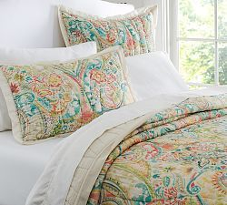 Quilts Comforters Down Comforters Bedspreads Pottery Barn Paisley Quilt Quilt Sets Bedding Quilted Sham