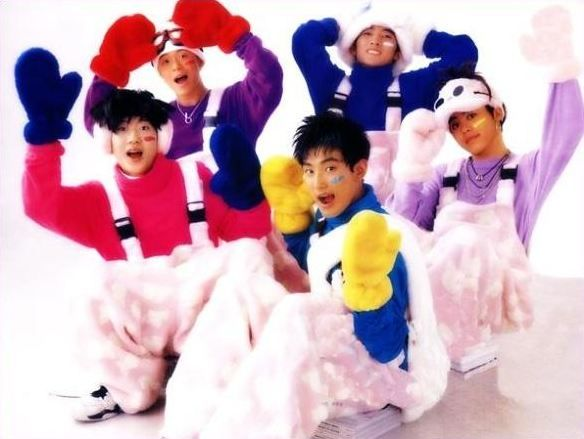 Blast To The Past Legendary Idol Group H O T Hot Candy Old School Hot Outfits