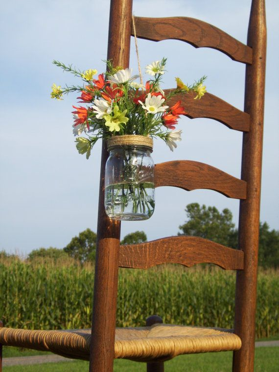 Mason Jar Wedding Decorations Hangin Mason Jar Twine ...