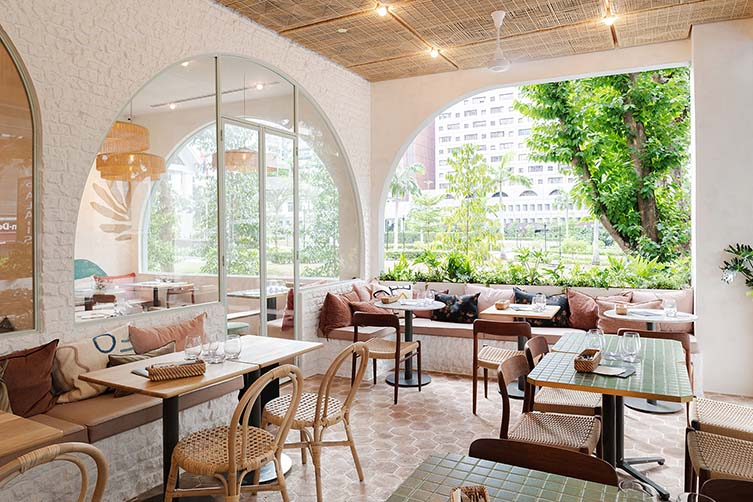 Singapore Locals And Visitors Alike Will Be Thanking Marcel For Another High Voltage Dose Of On Point Instagrammable Interiors Parisian Cafe Danish Dining Chairs Interior