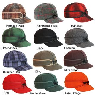 e42d71fd903e8 Stormy Kromer Adjustable Earband Original Wool Cap with Brim ...
