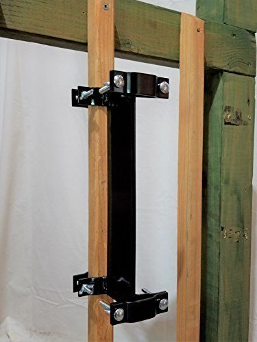Clamp-on Deck Rail or Fence Universal Pole Mount