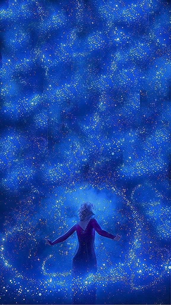 Photo of Frozen 2 my edit wallpaper💜