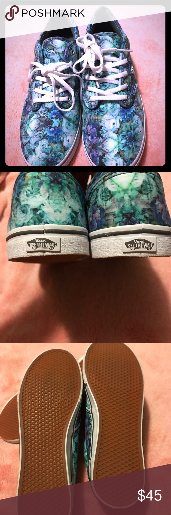 vans atwood low watercolor blue