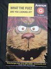 """Avenue Q The Musical Poster TREKKIE Monster""""WHAT THE FUZZ ARE YOU LOOKING AT"""" - Avenue, FUZZ, LOOKING, MonsterWHAT, Musical, POSTER, TREKKIE"""