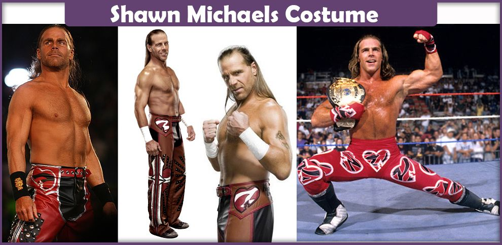 Shawn Michaels Costume A Diy Guide With Images Shawn