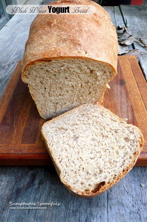 Whole Wheat Yogurt Bread