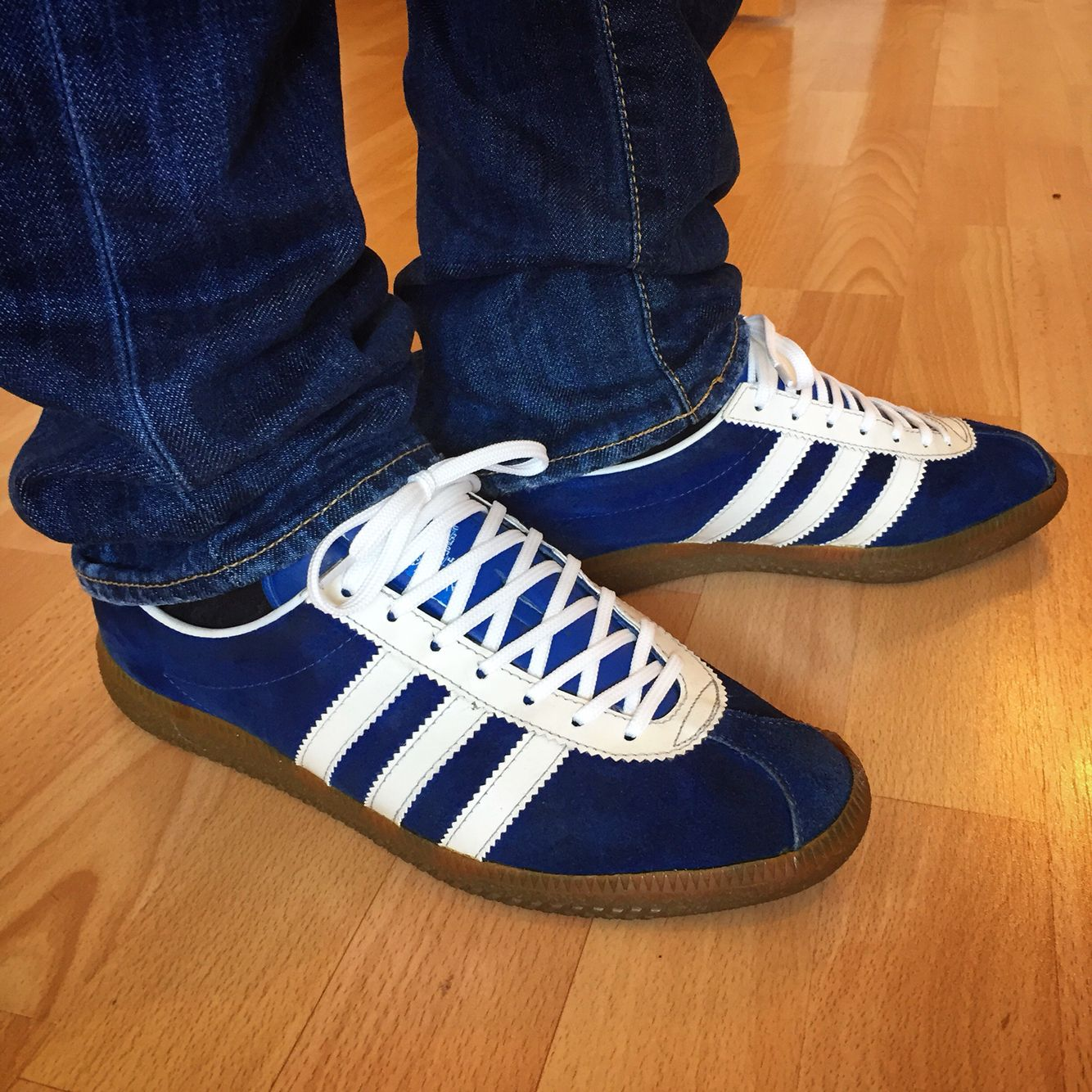 pretty nice d88df 1f50e adidas München 72 Made in West Germany.