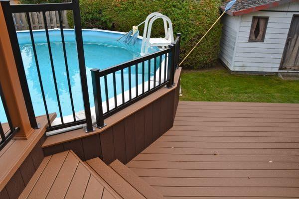 Accessoires Pour Patio Deck Patio Outdoor Composite Decking