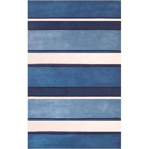 Blue White Bbb Rugs Home Rugs White Area Rug Striped Rug