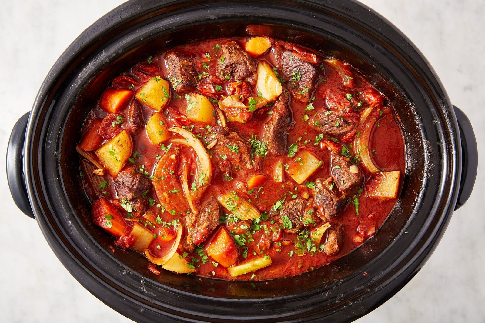 Make Slow Cooker Beef Stew And Everything Will Be Okay Recipe In 2020 Slow Cooker Beef Stew Crockpot Recipes Beef Stew Easy Slow Cooker Recipes
