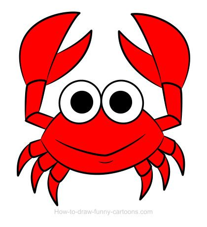 How To Draw A Crab Drawing Sketching Vector