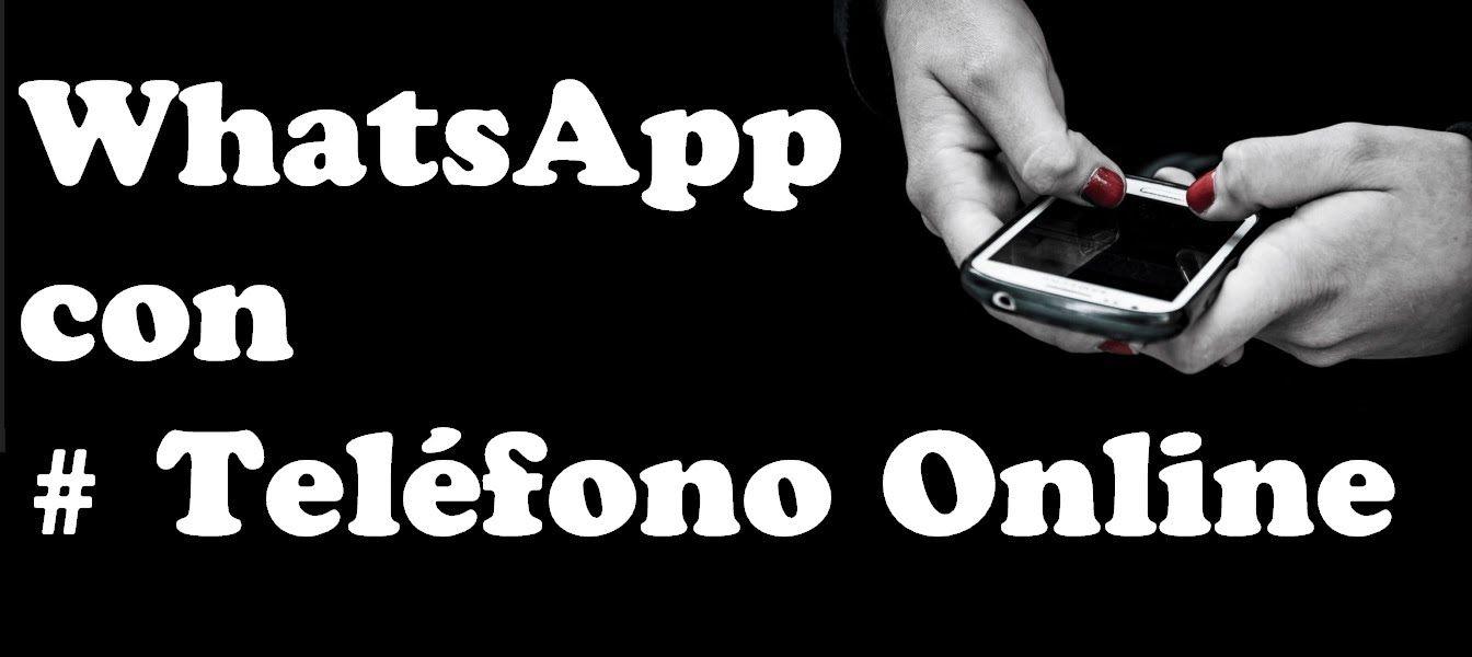 WhatsApp con Numero de Teléfono Online temporal Somos