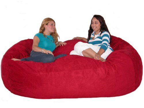 The Cozy Sack Foam Fill Bean Bag Chair Is Most Comfortable Place To Sit Anywhere