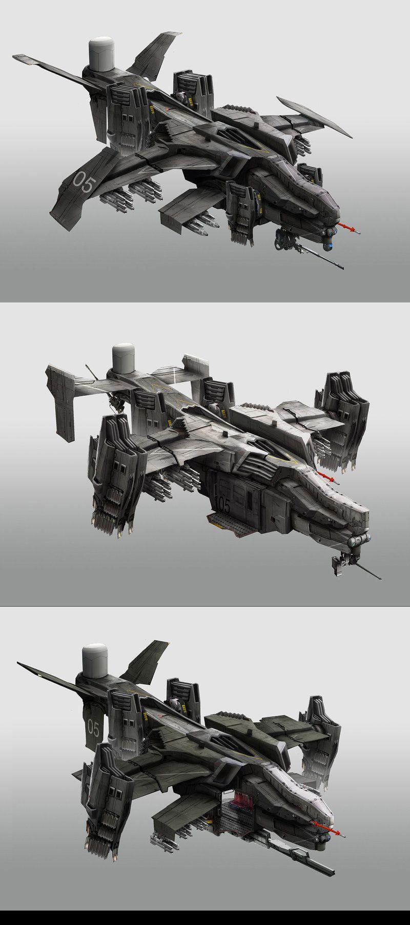 Gunships by StTheo.deviantart.com on @DeviantArt ...