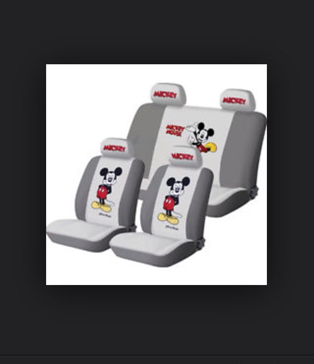 Mickey Mouse Car Seat Covers I Need The Big One For My New Truck