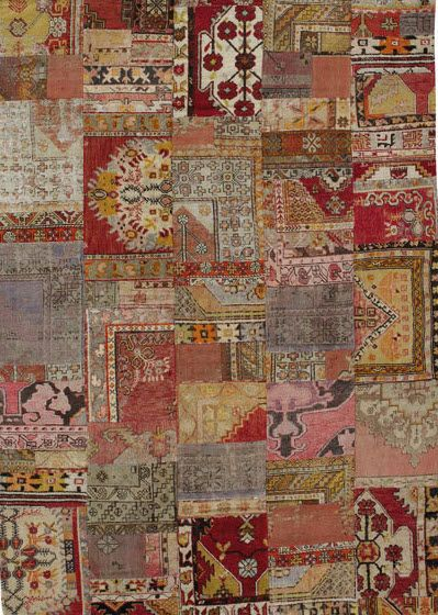 Turkish Kilim Rug In Wool Yamamak The