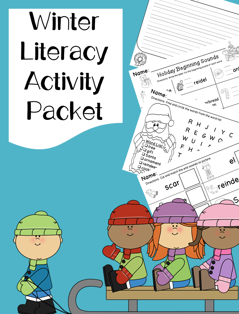 This Packet Contains Several Different Literacy Activities For You To Use With Your Students Throughout The