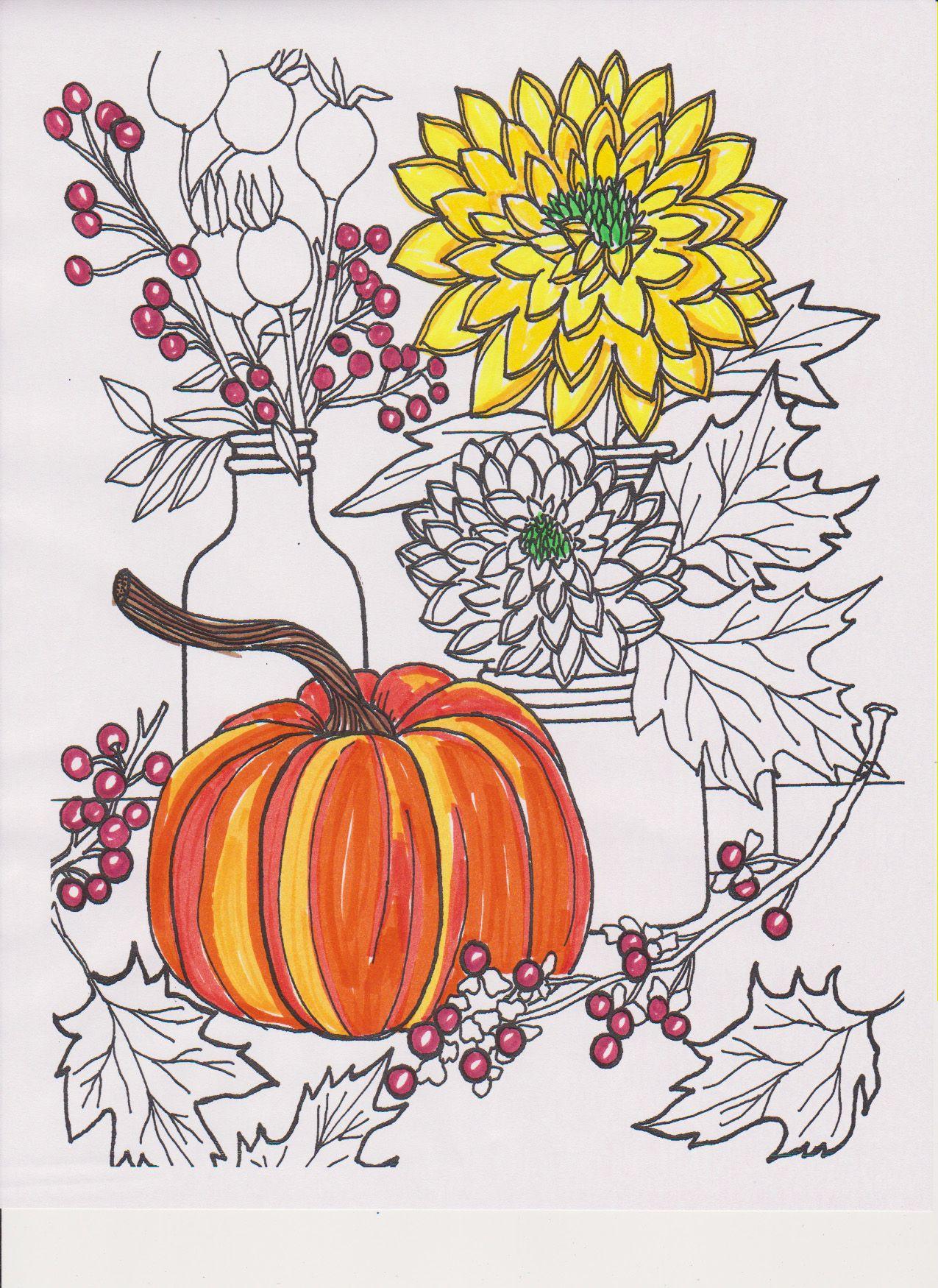 Free pages at BHG.com/coloringsheets | Color Me Happy | Pinterest ...