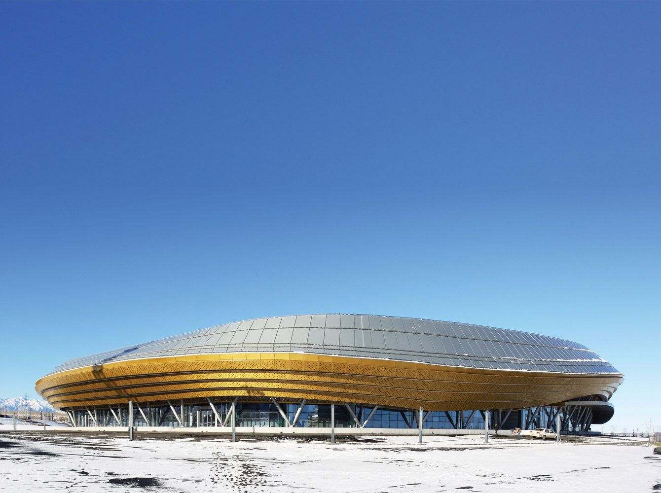 Gallery Of Ice Sports Center Of The 13th China National Winter Games Architectural Design And Research Institute Of Harbin Institute Of Technology 9 Ice Sports Winter Games Harbin